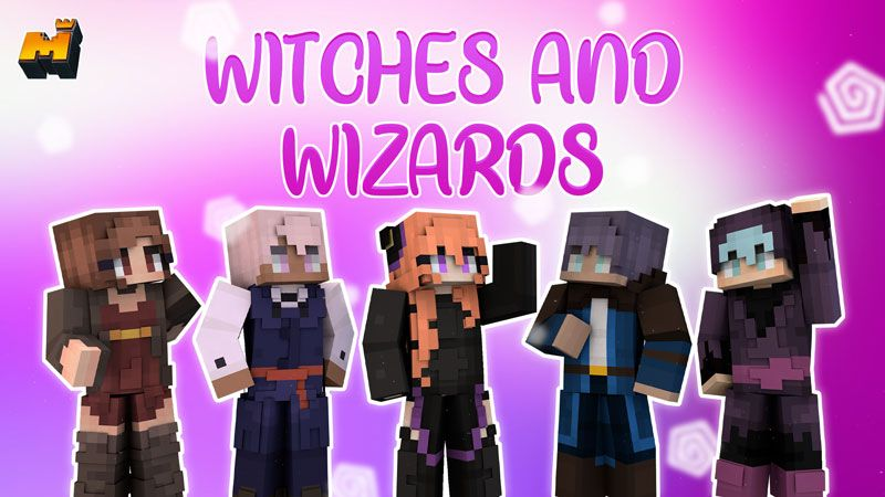 Witches and Wizards on the Minecraft Marketplace by Mineplex