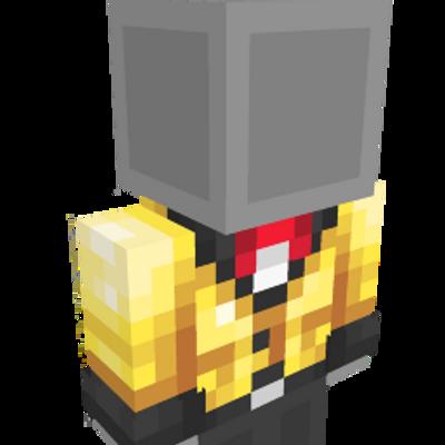 Shiny Golden Blazer on the Minecraft Marketplace by Starfish Studios