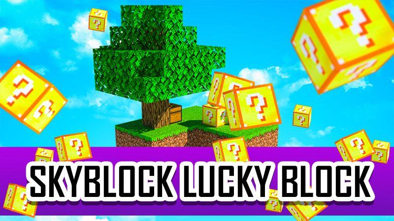 SKYBLOCK LUCKY BLOCK on the Minecraft Marketplace by 4KS Studios