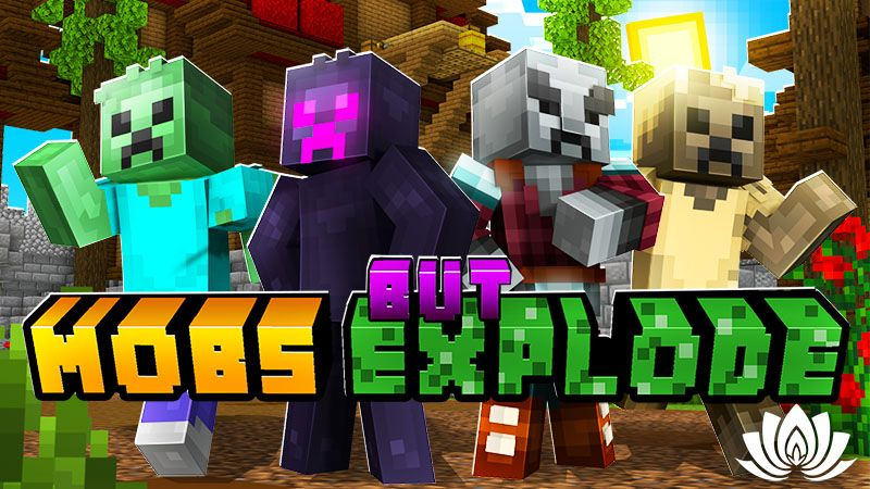 But Mobs Explode on the Minecraft Marketplace by IriumBT