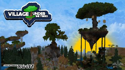 Village Under the Trees on the Minecraft Marketplace by Dragnoz