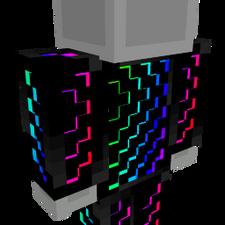 Rainbow Matrix Onesie