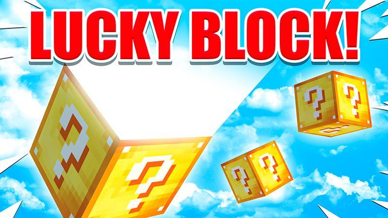 Lucky Block on the Minecraft Marketplace by 4KS Studios