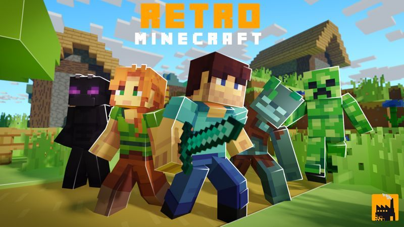 Retro Minecraft on the Minecraft Marketplace by Block Factory