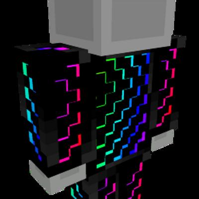 Rainbow Matrix Onesie on the Minecraft Marketplace by MobBlocks
