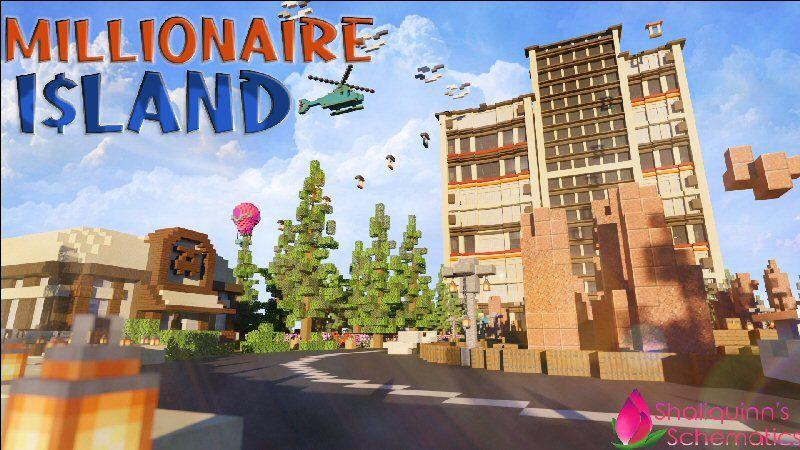 Millionaire Island on the Minecraft Marketplace by Shaliquinn's Schematics