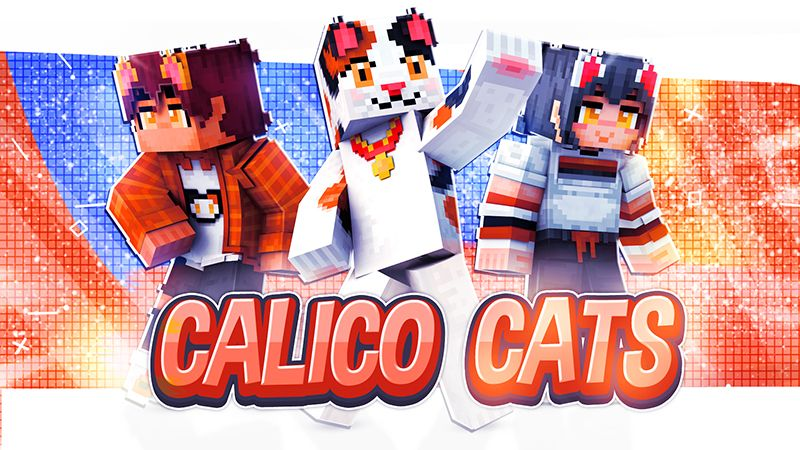 Calico Cats on the Minecraft Marketplace by Blu Shutter Bug