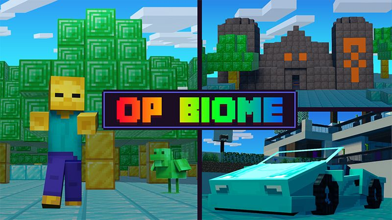 OP Biome on the Minecraft Marketplace by Mine-North