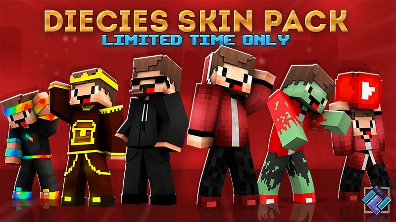 Diecies Skin Pack on the Minecraft Marketplace by PixelOneUp