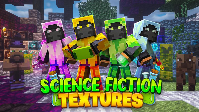 Science Fiction Textures on the Minecraft Marketplace by Team Visionary