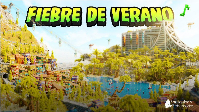 Fiebre de Verano on the Minecraft Marketplace by Shaliquinn's Schematics