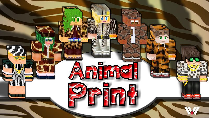 Animal Print on the Minecraft Marketplace by Wandering Wizards