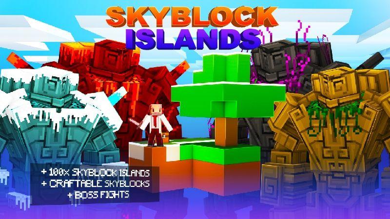Skyblock Islands on the Minecraft Marketplace by Kubo Studios