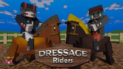 Dressage Riders on the Minecraft Marketplace by Cleverlike