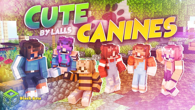 Cute Canines on the Minecraft Marketplace by Black Arts Studio