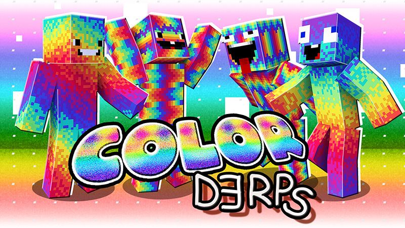 Color Derps on the Minecraft Marketplace by The Lucky Petals