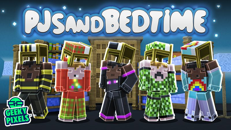 PJs and Bedtime on the Minecraft Marketplace by Geeky Pixels