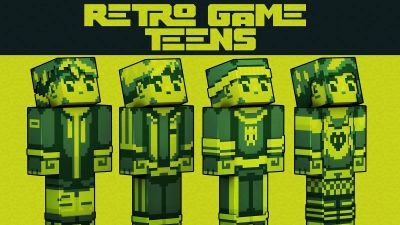 Retro Game Teens on the Minecraft Marketplace by 57Digital