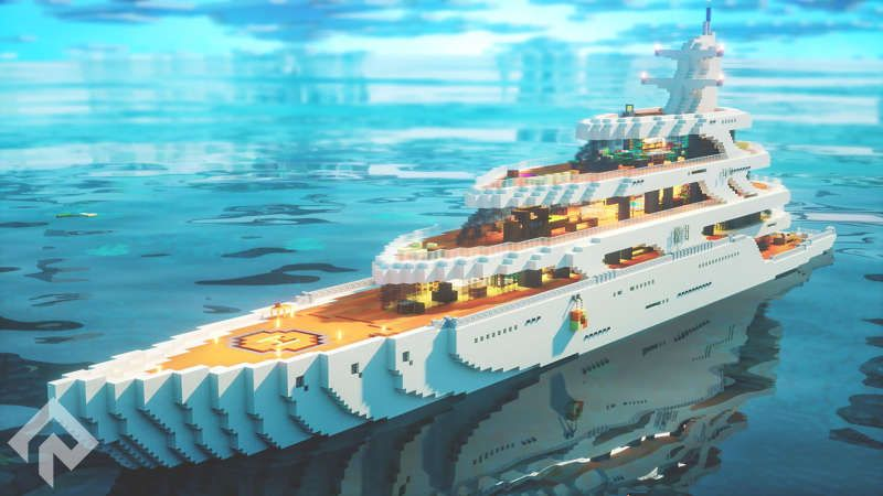 Yacht on the Minecraft Marketplace by RareLoot