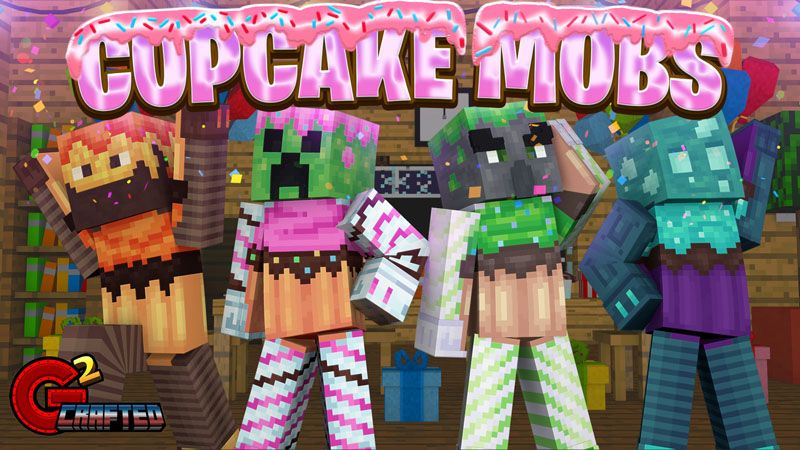Cupcake Mobs on the Minecraft Marketplace by G2Crafted