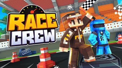 Race Crew on the Minecraft Marketplace by Cynosia