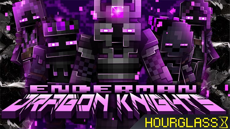 Enderman Dragon Knights on the Minecraft Marketplace by Hourglass Studios