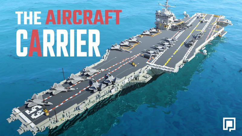 The Aircraft Carrier on the Minecraft Marketplace by BLOCKLAB Studios