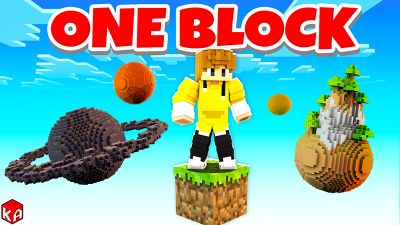 ONE BLOCK PLANETS on the Minecraft Marketplace by KA Studios