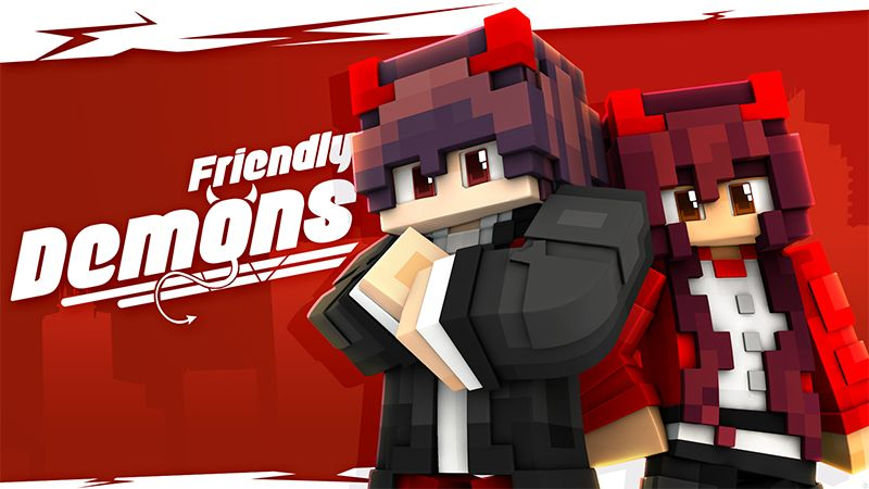 Friendly Demons on the Minecraft Marketplace by Glowfischdesigns