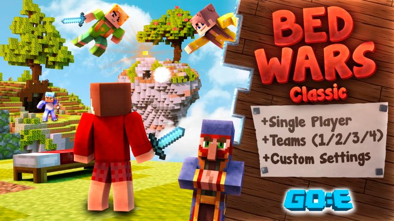 Bed Wars Classic on the Minecraft Marketplace by GoE-Craft