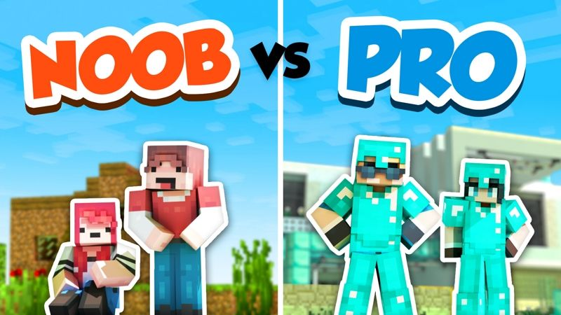 Noob vs Pro on the Minecraft Marketplace by InPvP