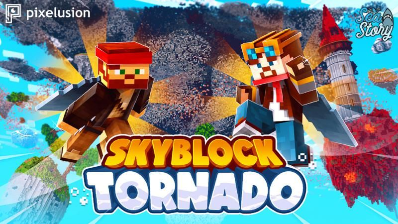 Skyblock Tornado on the Minecraft Marketplace by Pixelusion