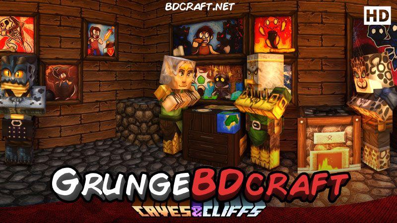 GrungeBDcraft on the Minecraft Marketplace by BDcraft