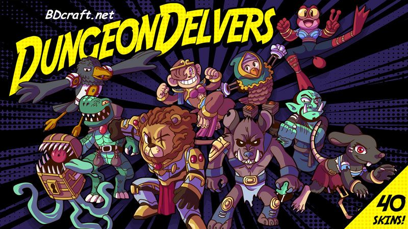 Dungeon Delvers on the Minecraft Marketplace by BDcraft