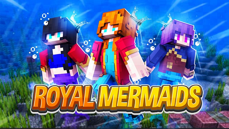 Royal Mermaids on the Minecraft Marketplace by Sapphire Studios