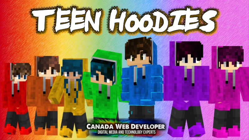 Teen Hoodies on the Minecraft Marketplace by CanadaWebDeveloper