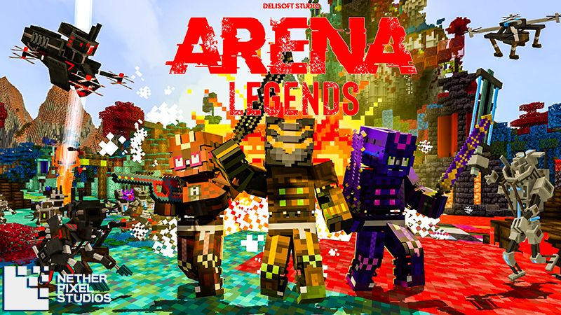 Arena Legends on the Minecraft Marketplace by Netherpixel
