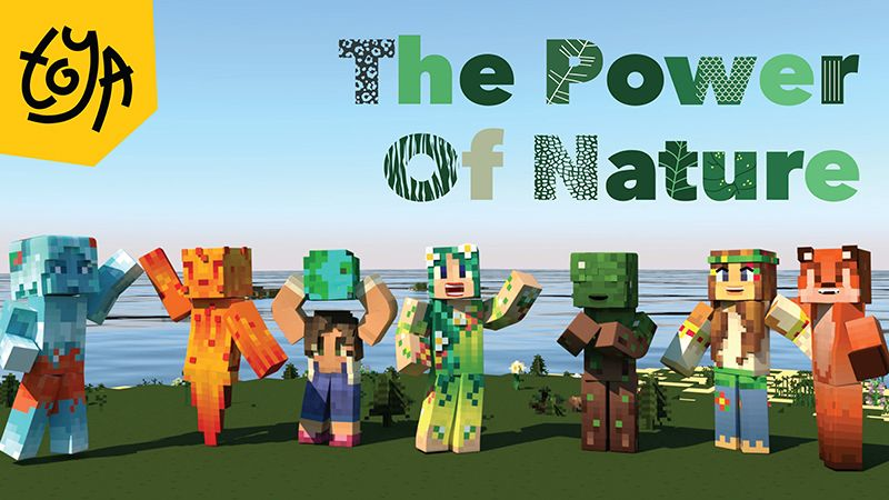 The Power of Nature on the Minecraft Marketplace by Toya