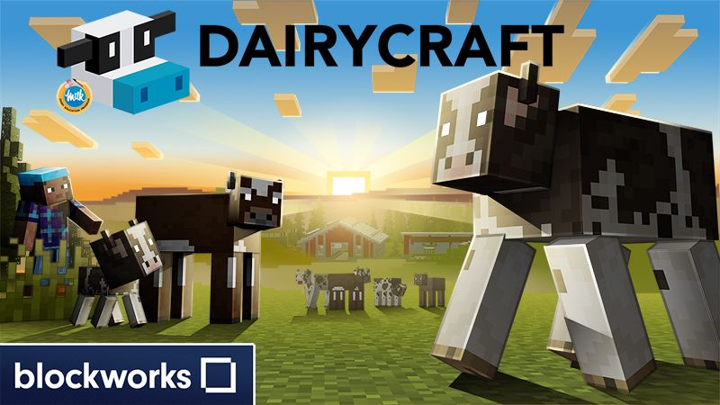 Dairycraft on the Minecraft Marketplace by Blockworks