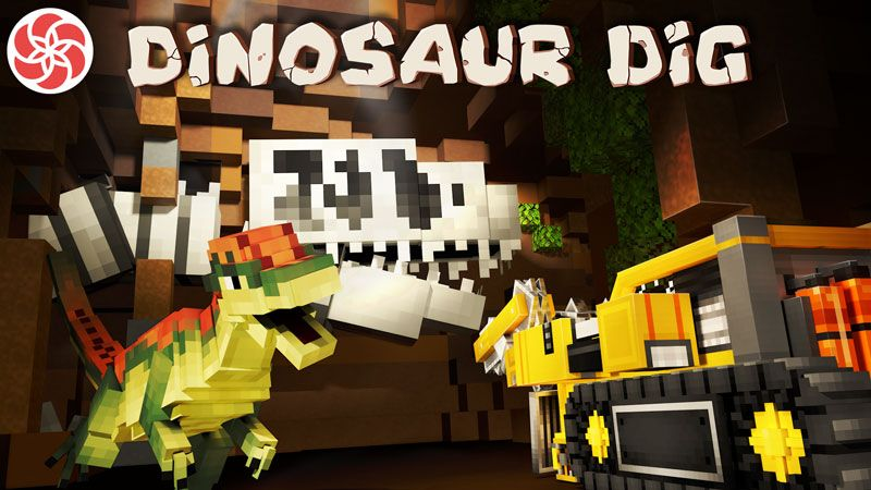 Dinosaur Dig on the Minecraft Marketplace by Everbloom Games