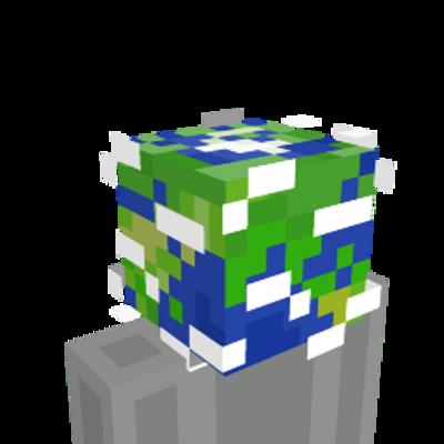 Globe Head on the Minecraft Marketplace by Panascais