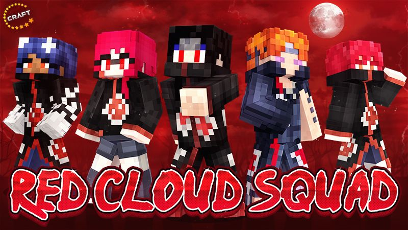 Red Cloud Squad on the Minecraft Marketplace by The Craft Stars