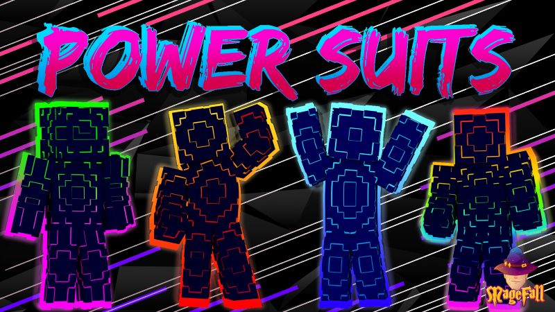 Power Suits on the Minecraft Marketplace by Magefall