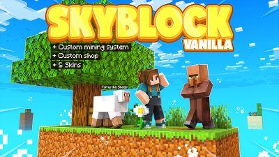 Skyblock Vanilla on the Minecraft Marketplace by Cynosia