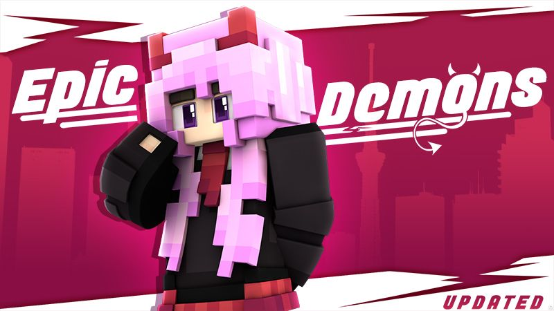 Epic Demons on the Minecraft Marketplace by Glowfischdesigns