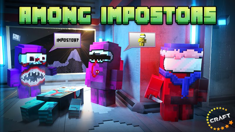 Among Impostors on the Minecraft Marketplace by The Craft Stars