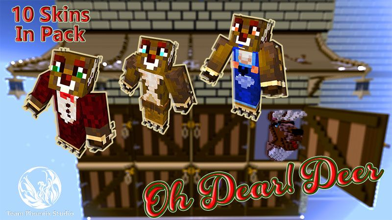 Oh Dear Deer on the Minecraft Marketplace by Team Phoenix Studio
