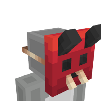Demon Mask on the Minecraft Marketplace by Dig Down Studios