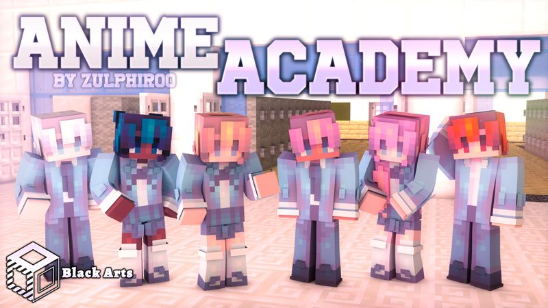 Anime Academy on the Minecraft Marketplace by Black Arts Studio