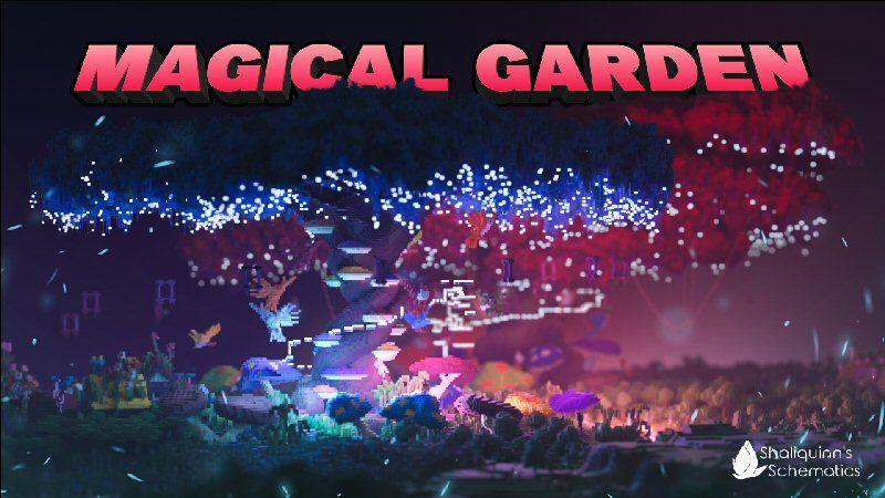 Magical Garden on the Minecraft Marketplace by Shaliquinn's Schematics